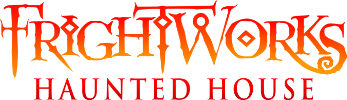 FrightWorks Haunted House Logo